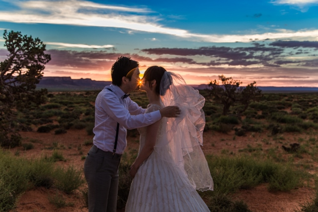 Monument Valley Wedding Photography 1